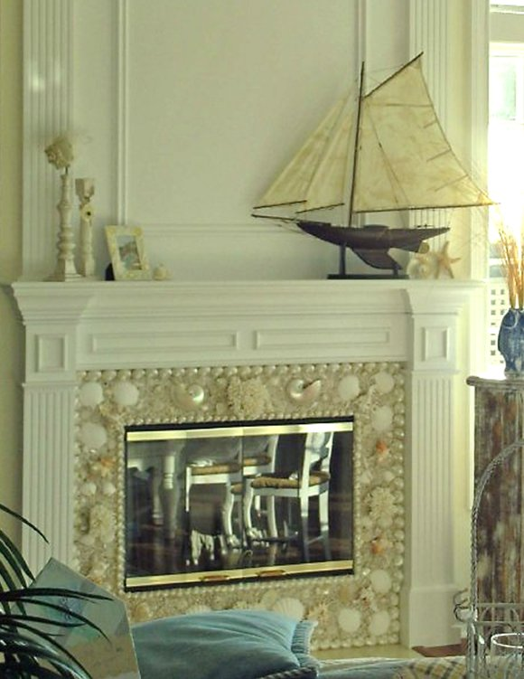 Seashell Decor Shell Interiors Sea Shell Interior Design