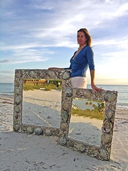 Click to see MORE seashell mirrors!